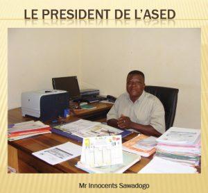 Voeux 2021 du président de l'Ased