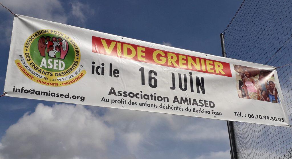 Vide grenier-juin 2019